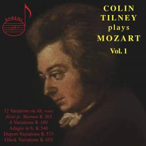 Colin Tilney plays Mozart (Vol. 1)