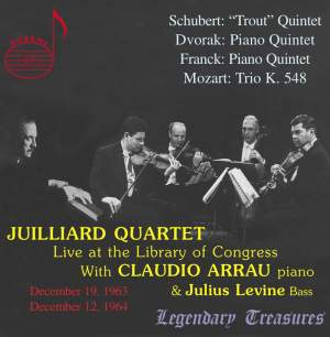 Juilliard Quartet live at the Library of Congress