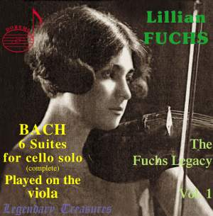 J S Bach - 6 Suites for Unaccompanied Cello - Played on the Viola