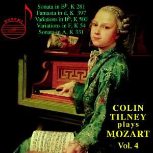 Colin Tilney plays Mozart, Vol.4
