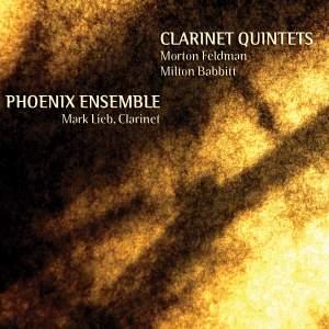 Feldman & Babbitt: Clarinet Quintets