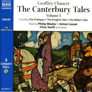 Geoffrey Chaucer: The Canterbury Tales Vol. 1 (abridged) Product Image