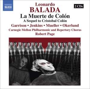Balada: La Muerte de Colón (The Death of Columbus) Product Image