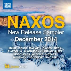 Naxos December 2014 New Release Sampler