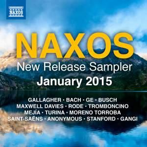 Naxos January 2015 New Release Sampler