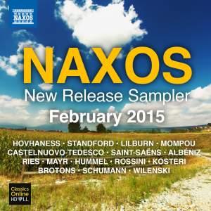 Naxos February 2015 New Release Sampler