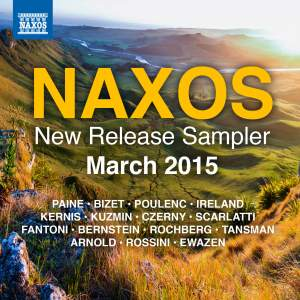 Naxos March 2015 New Release Sampler