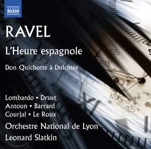 Ravel: L'Heure espagnole & Don Quichotte à Dulcinée Product Image