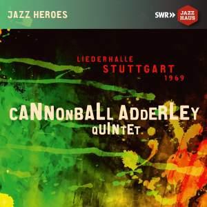 Cannonball Adderley Quintet - Liederhalle Stuttgart 1969 Product Image