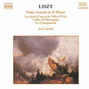 Liszt: Piano Sonata, Les jeux d'eaux, Vallée d'Obermann & Paganini Etude Product Image