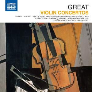Great Violin Concertos Product Image