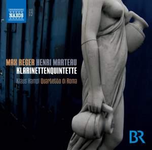 Reger & Marteau: Clarinet Quintets Product Image