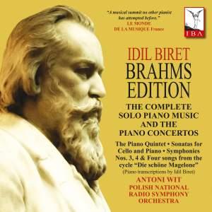 Idil Biret Brahms Edition Product Image