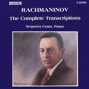 Rachmaninov: Piano Transcriptions (Complete) Product Image