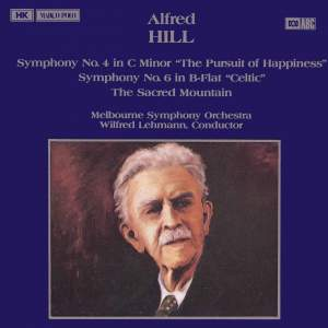 Alfred Hill: Symphonies Nos. 4 & 6 Product Image