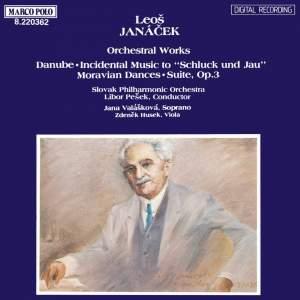 Janacek: Orchestral Works Product Image