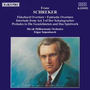 Schreker: Overtures & Preludes Product Image