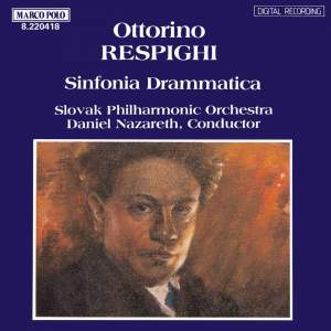 Respighi: Sinfonia drammatica, P. 102 Product Image
