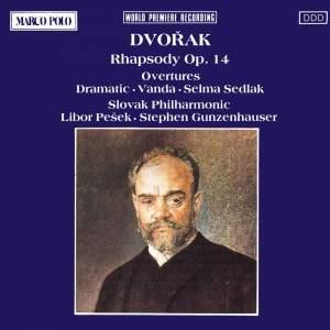 Dvorak: Rhapsody Op. 14 & Overtures Product Image