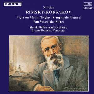 Rimsky Korsakov: Night on Mount Triglav & Pan Voyevoda Product Image