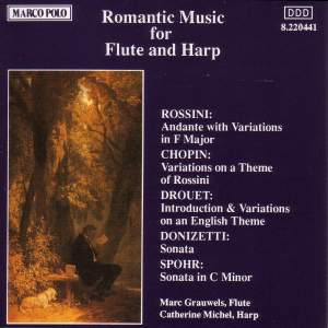 Romantic Music for Flute & Harp Product Image