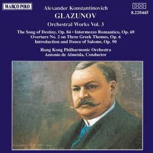 Glazunov: Orchestral Works, Vol. 3 Product Image