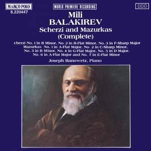 Balakirev: Scherzi and Mazurkas (Complete) Product Image