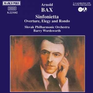 Bax: Sinfonietta & Overture, Elegy and Rondo Product Image