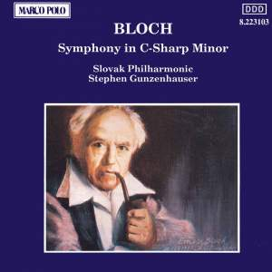 Bloch, E: Symphony in C sharp minor Product Image