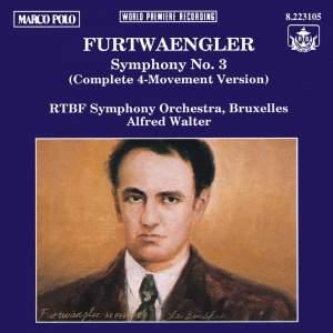 Furtwängler: Symphony No. 3 Product Image