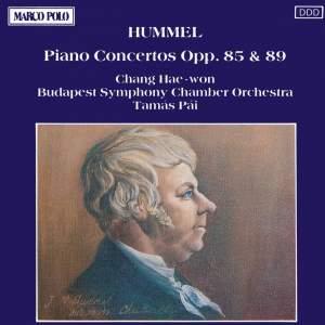 Hummel: Piano Concertos Nos. 2 and 3 Product Image
