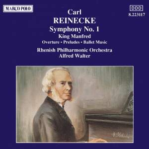 Reinecke: Symphony No. 1 & King Manfred Product Image