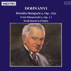 Dohnányi: Ruralia Hungarica & Four Rhapsodies Product Image