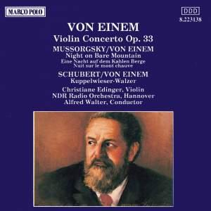 Von Einem: Violin Concerto, Op. 33 Product Image