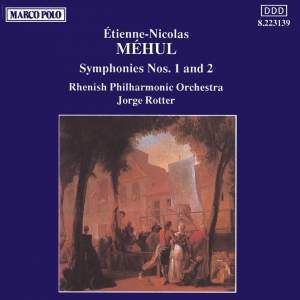 Méhul: Symphonies Nos. 1 and 2 Product Image