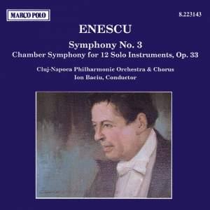 Enescu: Symphony No. 3 & Chamber Symphony Product Image