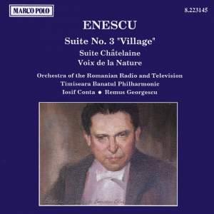 Enescu: Suite No. 3, 'Village' & Suite chatelaine Product Image