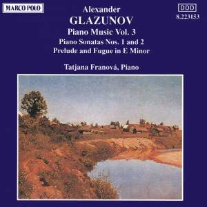 Glazunov: Piano Music, Vol. 3 Product Image