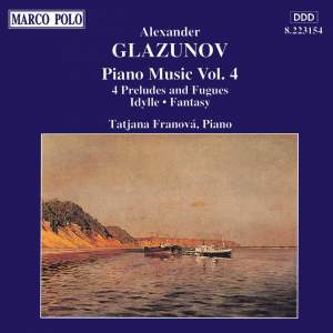Glazunov: Piano Music Vol. 4 Product Image