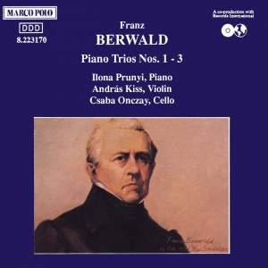 Berwald: Piano Trios Nos. 1-3 Product Image