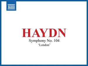 Haydn: Symphony No. 104 in D major 'London'