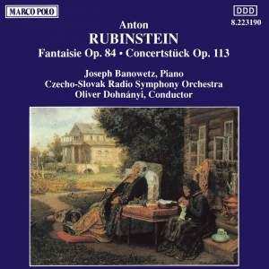 Rubinstein: Fantaisie Op. 84 & Concertstück Op. 113 Product Image