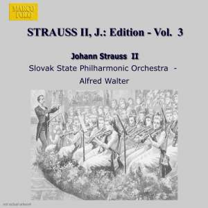 Johann Strauss II Edition, Volume 3