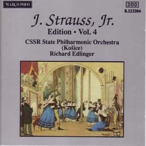 Johann Strauss II Edition, Volume 4 Product Image
