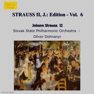 Johann Strauss II Edition, Volume 6