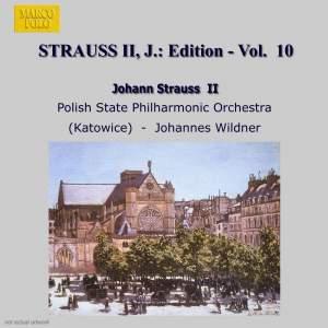 Johann Strauss II Edition, Volume 10 Product Image