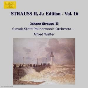 Johann Strauss II Edition, Volume 16 Product Image