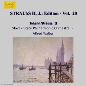 Johann Strauss II Edition, Volume 20 Product Image