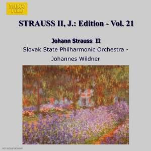 Johann Strauss II Edition, Volume 21 Product Image