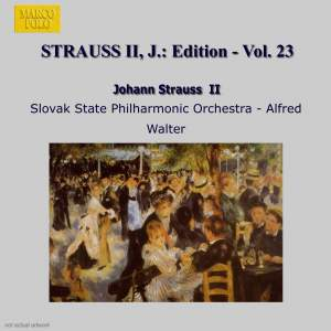 Johann Strauss II Edition, Volume 23 Product Image